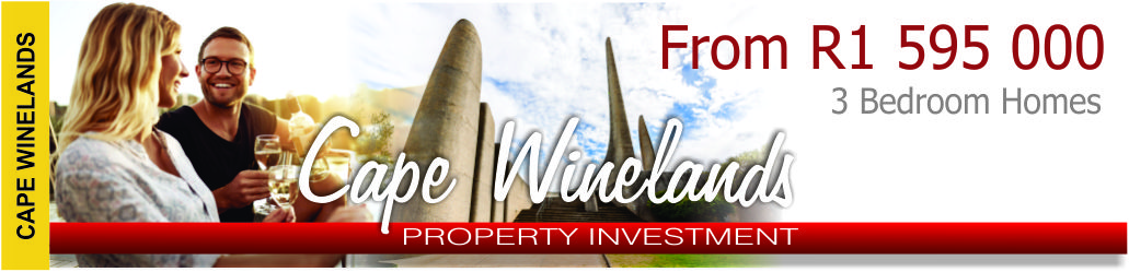 Cape Winelands Lifestyle Estate Phase 5 Webpage Banner