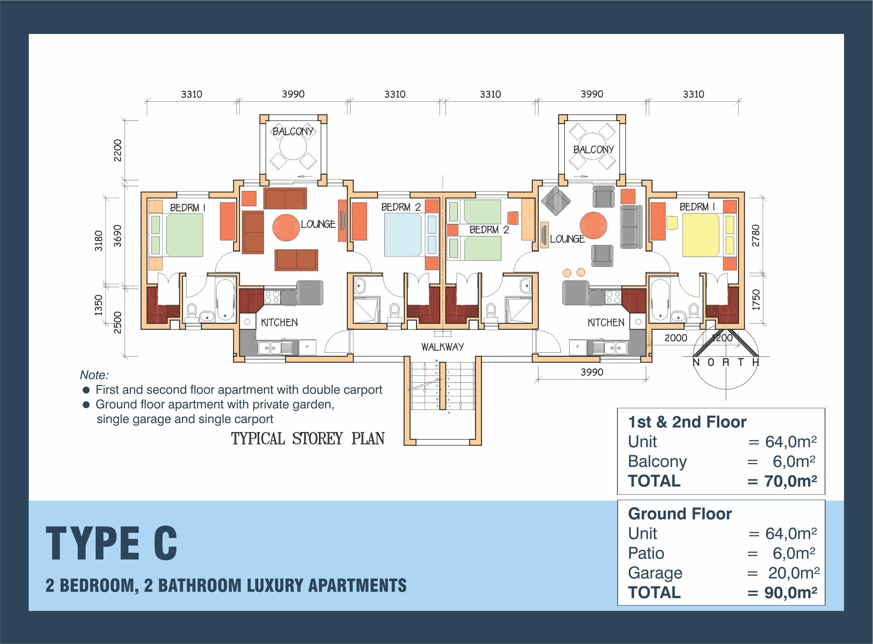 Centurion 2018 Floor plan